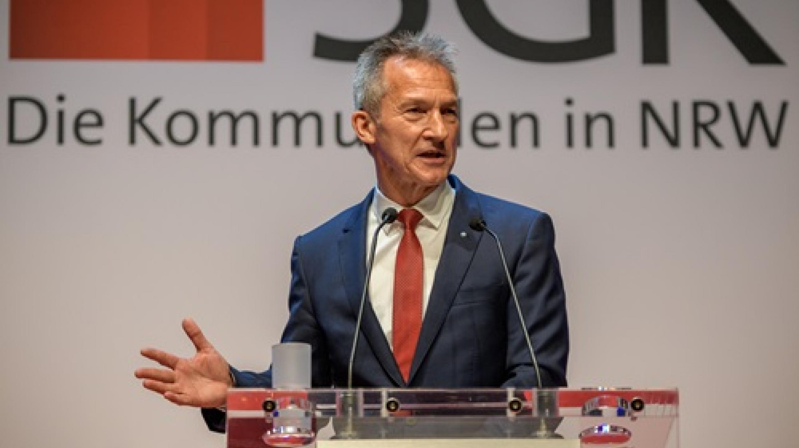 Frank Baranowski, Vorsitzender der SGK NRW