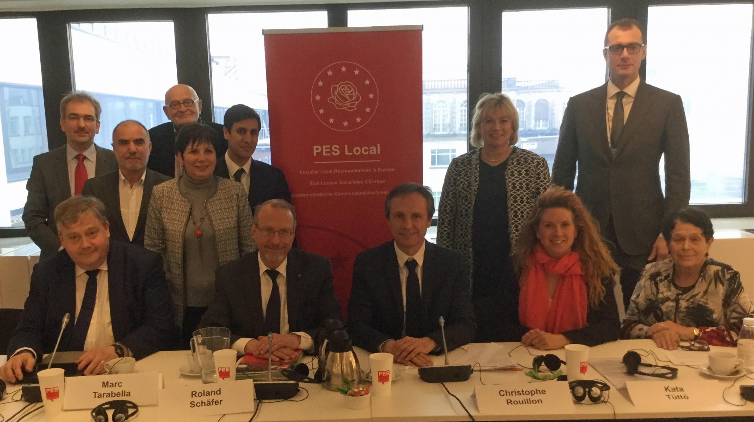 The PES Local Board Brussels März 2017