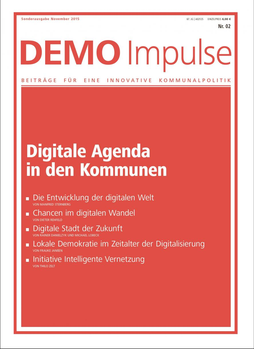 "DEMO Impulse Nr. 2/2015 ""Digitale Agenda in den Kommunen"""
