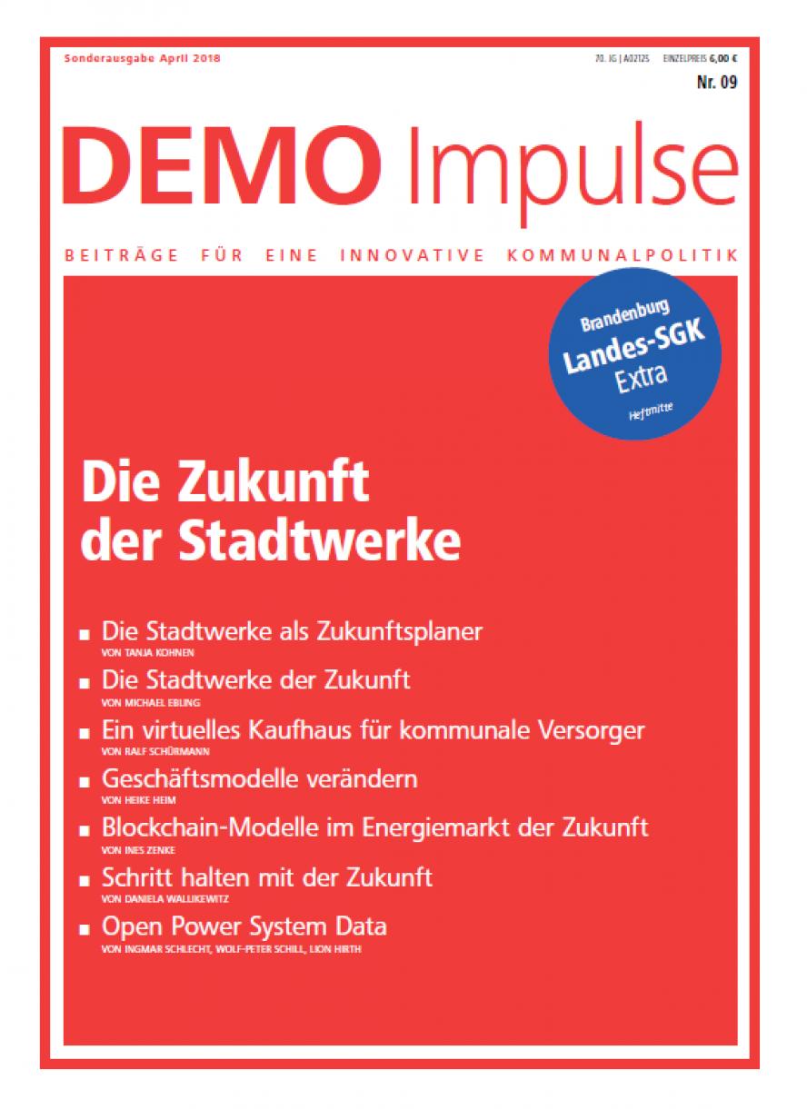 Cover DEMO-Impulse Nr. 9 / 2018