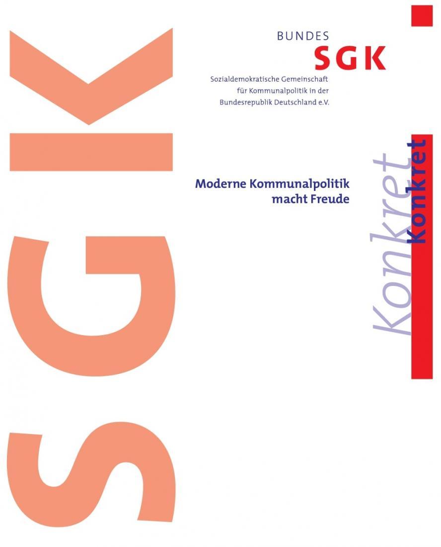 "Titelblatt von Konkret ""Kommunalpolitik macht Freude"""
